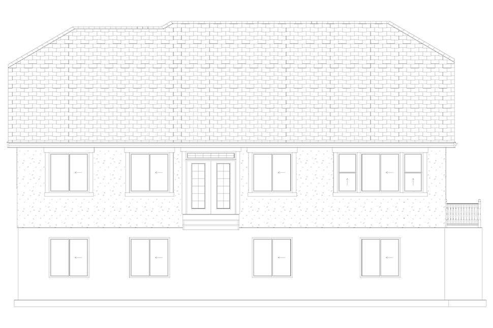 Traditional House Plan 50530 with 6 Beds, 4 Baths, 3 Car Garage Picture 28