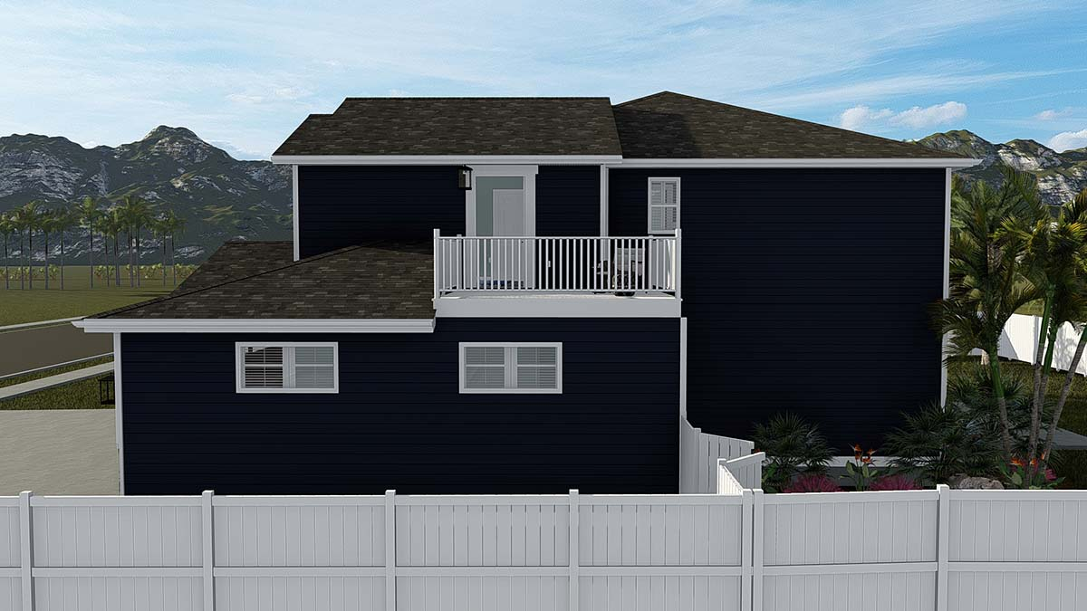 Craftsman, Traditional House Plan 50533 with 6 Beds, 4 Baths, 3 Car Garage Picture 1