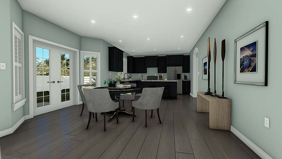 Craftsman, Traditional House Plan 50533 with 6 Beds, 4 Baths, 3 Car Garage Picture 11