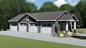Garage Plan 50608