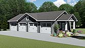 Plan Number 50608 - 1904 Square Feet