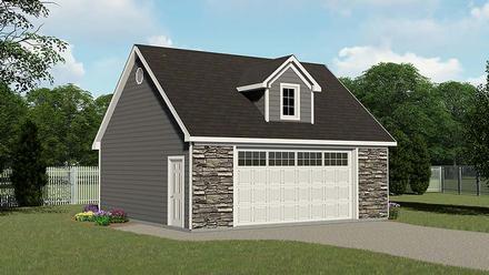 Garage Plan 50611