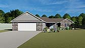 Plan Number 50615 - 1703 Square Feet