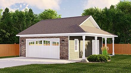 Garage Plan 50618