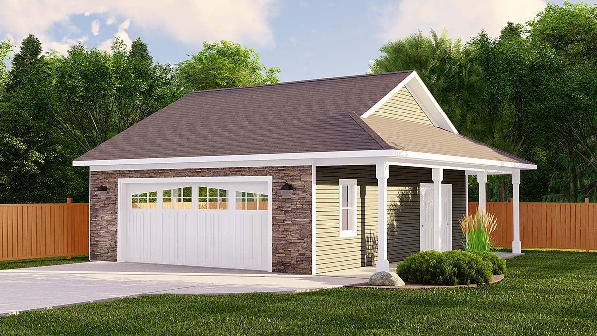 Garage Plan 50618 Elevation