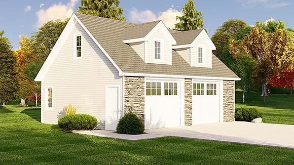 Garage Plan 50619