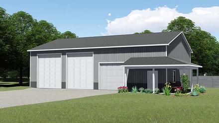 Garage Plan 50621