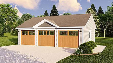 Garage Plan 50622