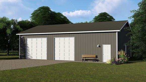 Garage Plan 50624