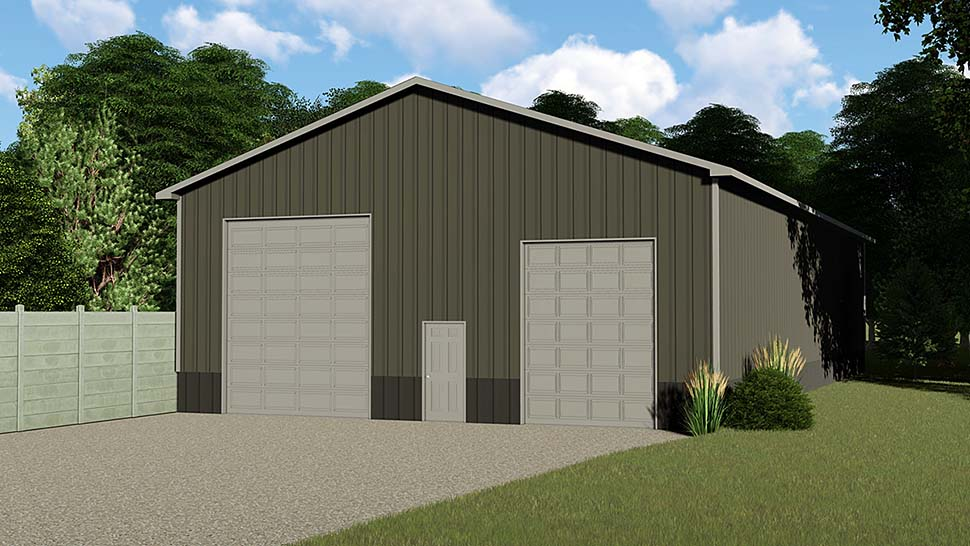 Garage Plan 50625 Elevation