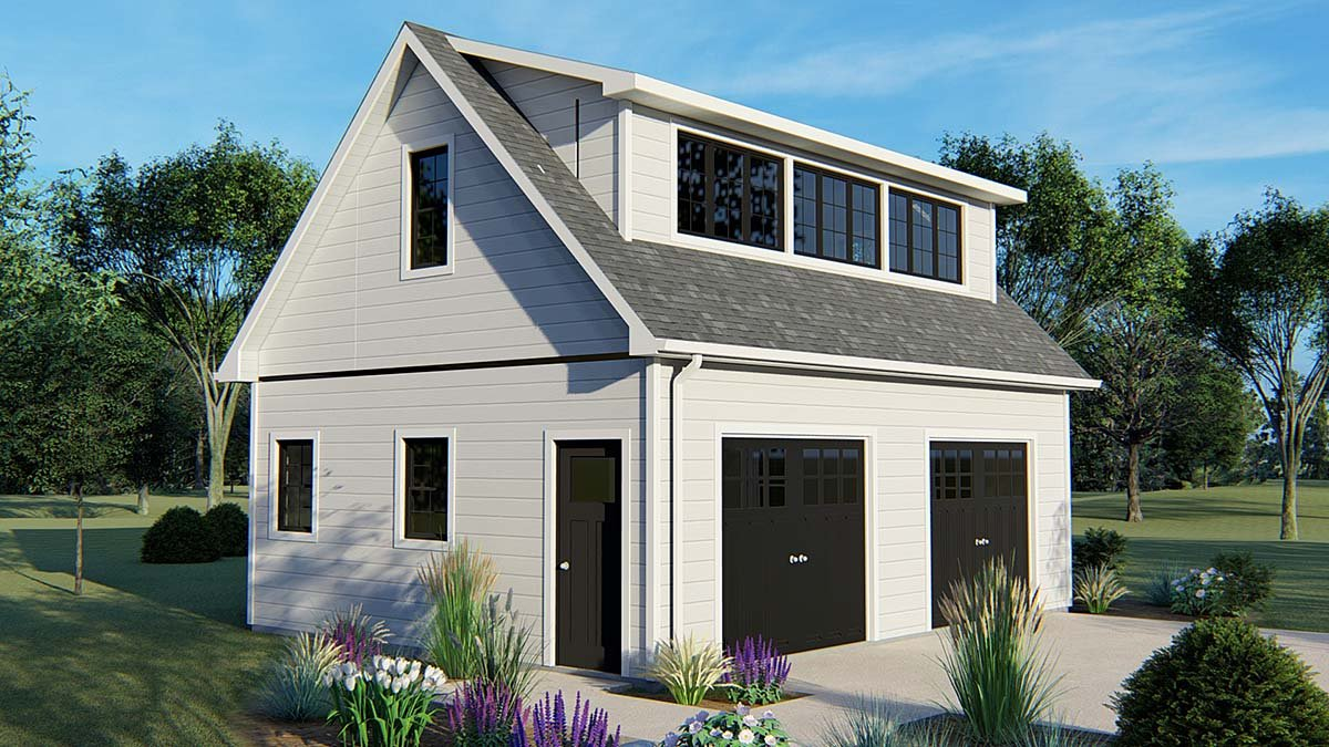 Garage Plan 50626 Elevation
