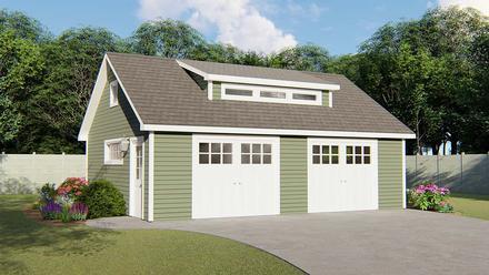 Garage Plan 50683