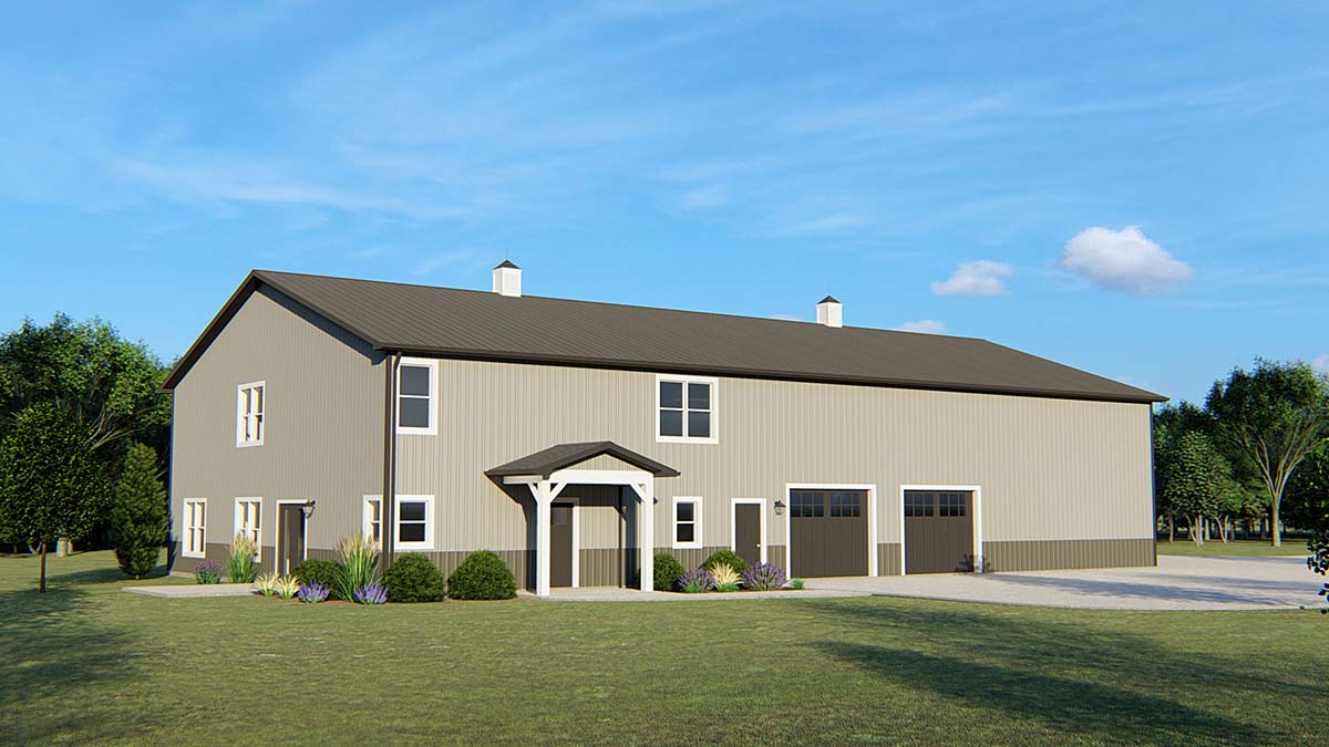 Traditional House Plan 50702 Elevation
