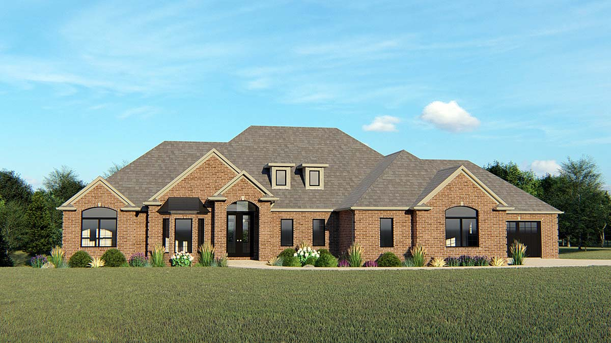 Country European House Plan 50766 Elevation