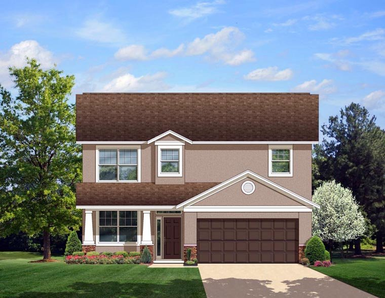 Prairie Style House Plan 50864 Elevation
