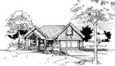Plan Number 51073 - 1258 Square Feet