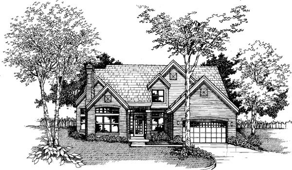 Country House Plan 51118 Elevation