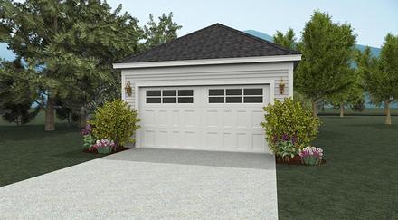 Garage Plan 51403