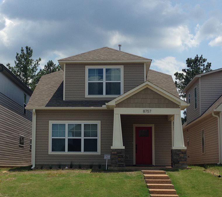 Cottage Craftsman House Plan 51408 Elevation