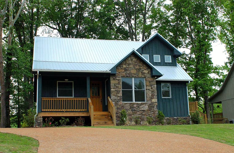 Cabin Country Southern House Plan 51412 Elevation