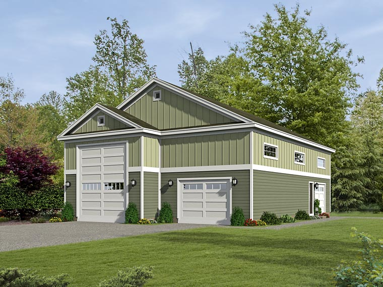 Garage Plan 51431 Elevation