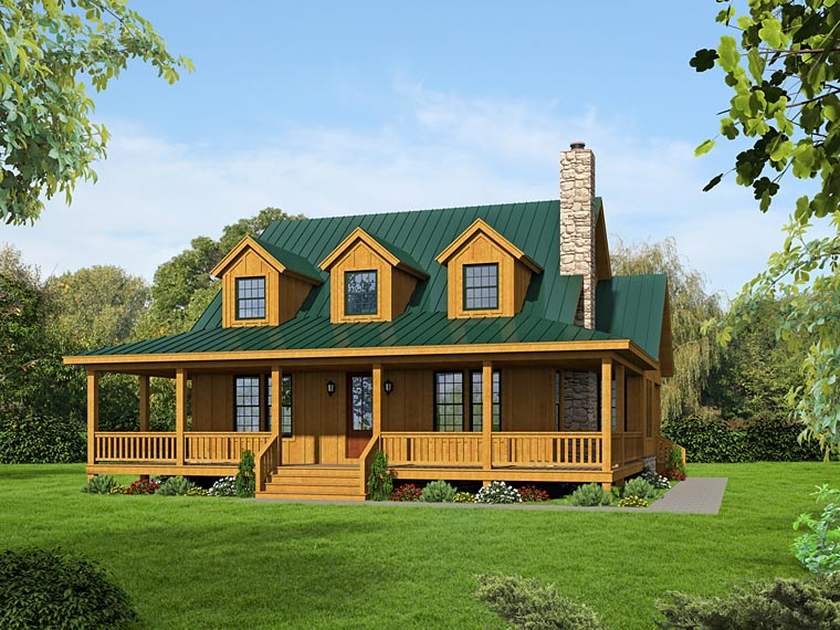 Country House Plan 51438 Elevation
