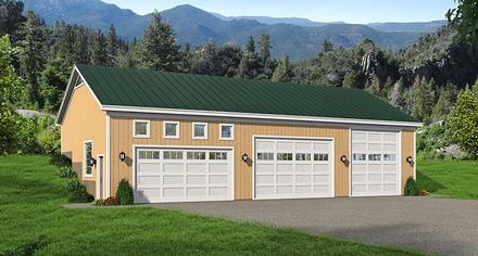 Garage Plan 51442