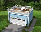 Garage Plan 51451
