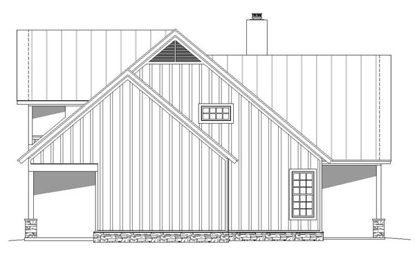 Cottage, Country, Southern, Traditional House Plan 51457 with 3 Beds, 4 Baths Picture 1