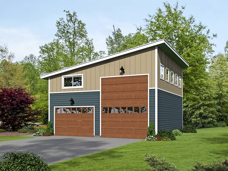 Garage Plan 51463 Elevation