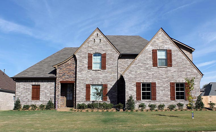 French Country Traditional Tudor House Plan 51478 Elevation