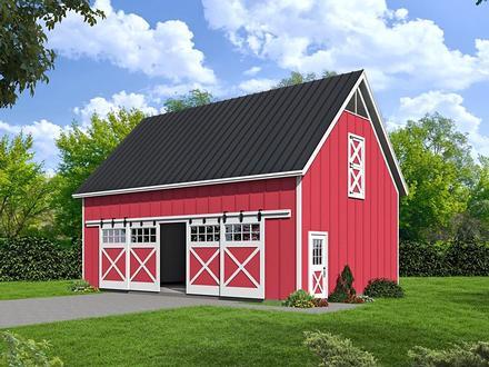 Garage Plan 51480