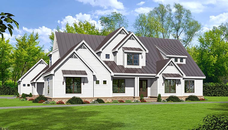Traditional House Plan 51484 Elevation