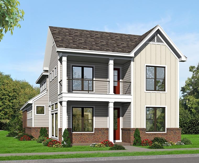 Colonial Traditional House Plan 51496 Elevation