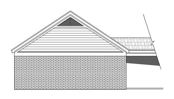 Traditional Garage Plan 51503 Rear Elevation
