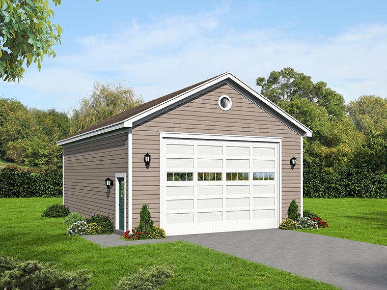 Traditional Garage Plan 51504 Elevation