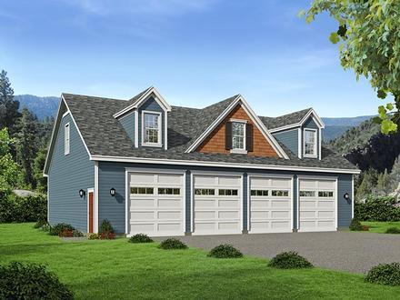 Garage Plan 51505