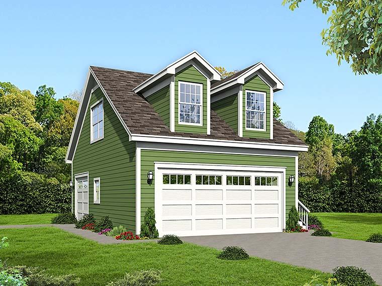 Garage Plan 51537 Elevation