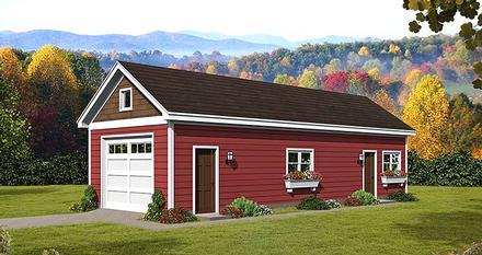 Garage Plan 51544