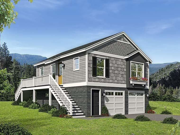 House Plan 51545 Elevation