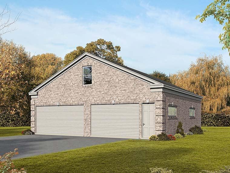 Garage Plan 51565 Elevation