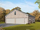 Garage Plan 51566
