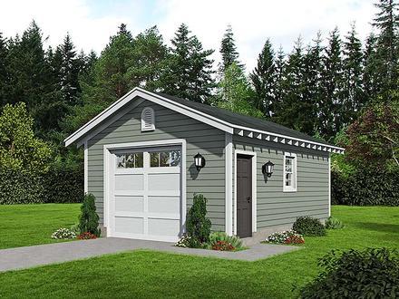 Garage Plan 51573