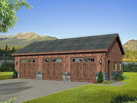 Garage Plan 51579