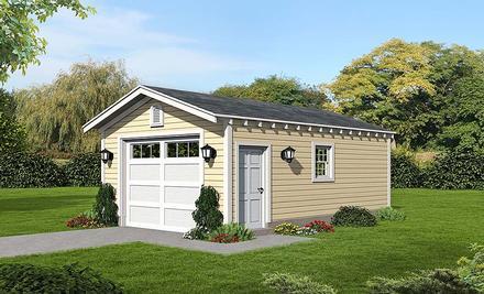Garage Plan 51590