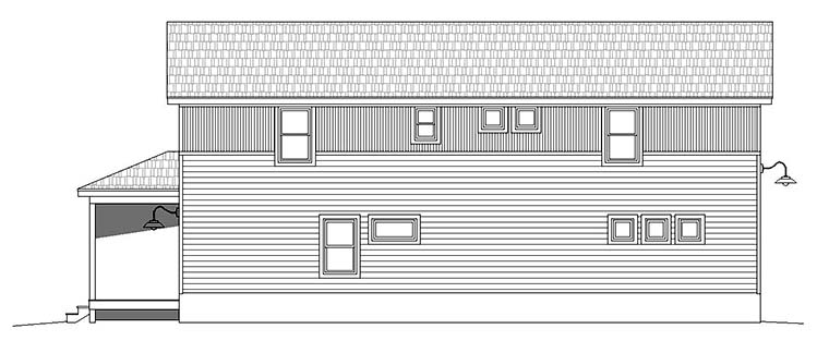 Cabin, Country, Traditional House Plan 51592 with 3 Beds, 2 Baths Picture 2