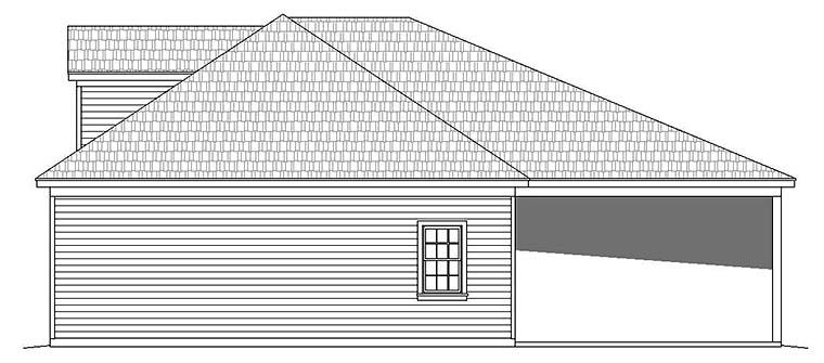 4 Car Garage Plan 51594 Picture 1