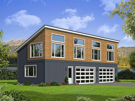 Garage Plan 51596