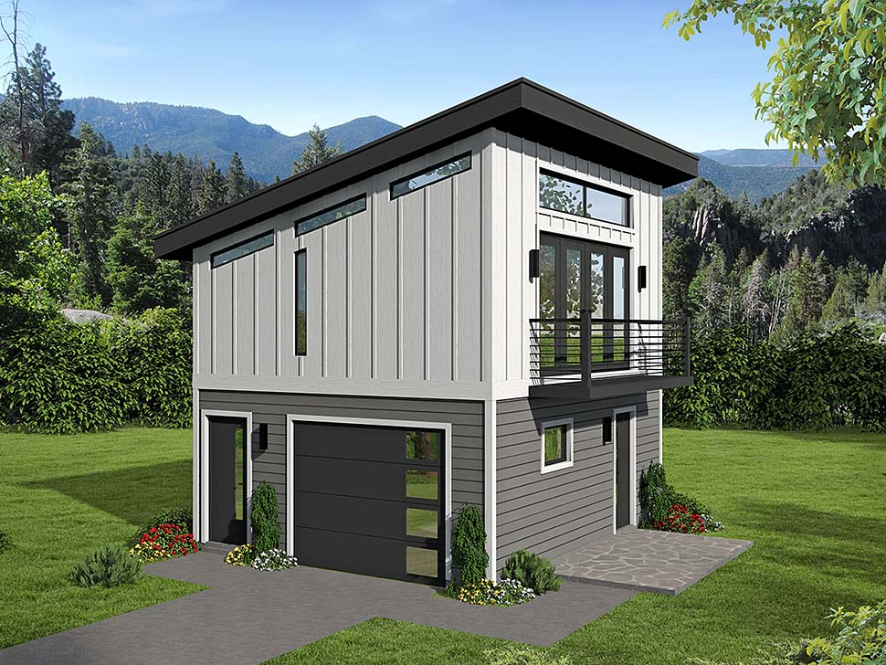 Garage Apartment Plans - Architectural Designs