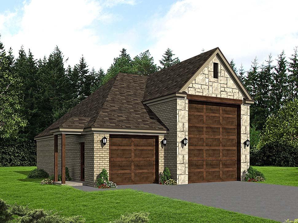 Garage Plan 51624